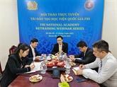 Vietnam et États-Unis coopèrent dans la lutte contre la criminalité transfrontalière