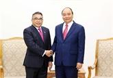 Le PM Nguyên Xuân Phuc reçoit l'ambassadeur des Philippines