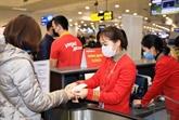 Vietjet informe ses passagers de faire une déclaration médicale avant le vol