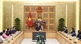 Nguyên Xuân Phuc reçoit les représentants de VASEAN