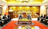 Hanoï développe ses relations avec les États-Unis et la R. de Corée
