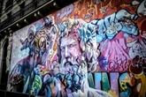 Paris : une fresque géante du duo espagnol PichiAvo inaugurée au Quartier Latin