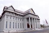 Remise au Laos du nouveau bâtiment de l'AN financé par le Vietnam