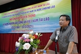 Rencontre à l'occasion des 60 ans d'activités des spécialistes vietnamiens en Police au Laos
