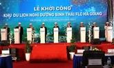 Mise en chantier de l'Éco-Resort FLC à Hà Giang