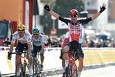 Tour de Catalogne : Kron vainqueur surprise de la 1ère étape