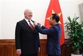 L'ambassadeur russe à l'honneur