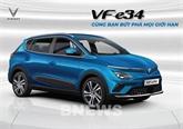 VinFast commence à vendre son premier modèle de voiture électrique VF e34
