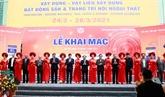 L'exposition internationale Vietbuild 2021 s'ouvre à Hanoï