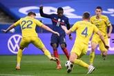 Qualif Mondial-2022 : les Bleus trébuchent contre l'Ukraine