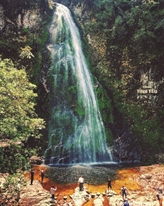 La cascade de l'Amour à Sa Pa