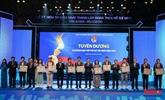 Dix jeunes Vietnamiens exemplaires en 2020
