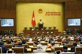 La 11e session de l'Assemblée nationale se poursuit
