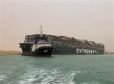 Le blocage du canal de Suez affecte le transport maritime mondial
