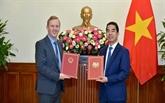 Vietnam - Royaume-Uni : échange de notes confirmant la date d'entrée en vigueur