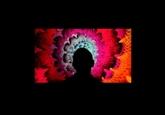 Une galerie physique d'œuvres numériques