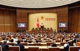 Les députés discutent du projet de rapport de travail de l'AN pendant la XIVe législature