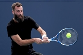 Tennis/Miami : Paire ne rallume pas la flamme, Humbert et Mannarino l'entretiennent