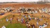 En Guinée équatoriale, distribution de repas pour les sinistrés des explosions