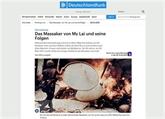 Un historien allemand condamne le massacre de My Lai et le qualifie de crime de guerre