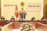 La présidente de lAN préside la 3e réunion du Conseil électoral national