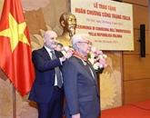 Un député vietnamien honoré de l'Ordre du mérite de l'Italie