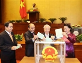 Procédures pour élire les présidents de l'AN et du Conseil électoral national