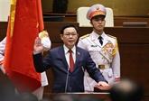 Le nouveau président de l'Assemblée nationale prête serment