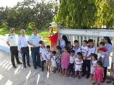 L'ambassade du Canada au Vietnam inaugure un ouvrage de bienfaisance à Khanh Hoa