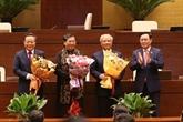 Trois vice-présidents de l'Assemblée nationale libérés de leurs fonctions