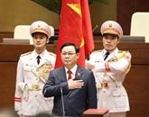 Félicitations envoyées au président de l'AN Vuong Dinh Huê