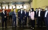 Inspecter l'entraînement des sportifs de Hanoï et ses préparations aux SEA Games 31
