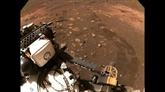 Le rover Perseverance a parcouru ses premiers mètres sur Mars
