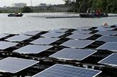 Singapour bâtit des fermes solaires sur l'eau faute d'espace