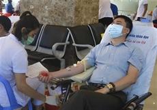 Plus de 8.300 unités de sang collectés lors de la Fête du printemps rouge 2021