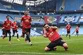 Angleterre : City stoppé à 21 victoires par United, Liverpool déprime