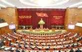 Première journée de travail du 2eplénum du Comité central du Parti