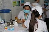 Les premiers agents hospitaliers de Hô Chi Minh Ville ont été vaccinés