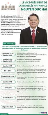 Nguyên Duc Hai élu vice-président de l'Assemblée nationale