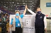 Arrivée de plus de 811.000 doses de vaccin de la Facilité COVAX au Vietnam