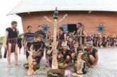 La fête du riz nouveau des Bahnar