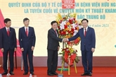 Le président de l'AN en visite de travail à Nghê An