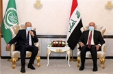 Le chef de la Ligue arabe en visite en Irak