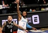 NBA : les Lakers bis humilient les ambitieux Nets