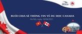 Une rencontre pour présenter les opportunités d'études au Canada