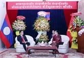 Des dirigeants félicitent le Laos à l'occasion de la fête Bunpimay