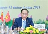 Les résultats du XIIIe Congrès national du PCV informés au PCC