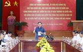 Le président de l'Assemblée nationale travaille avec Hai Phong