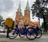 Hô Chi Minh-Ville expérimente les vélos en libre-service