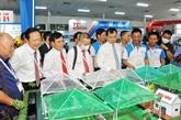 Crevetticulture : ouverture du salon VietShrimp 2021 à Cân Tho